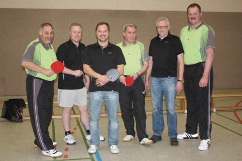 (v.l.) Peter Jahnel, Tim Klusmann, Winfried Langen, Rudolf Legenhausen, Heiner Lehmkuhl, Heiko Meyer