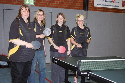 (v.l.) Marion Wassermeyer, Britta Kolkmann, Anke Kirchhoff, Monique Schmidt