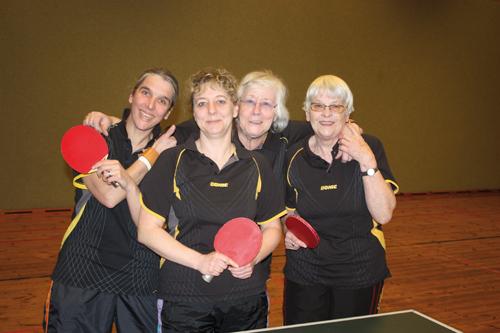 (v.l.) Claudia Kessler, Petra Engels, Inge Schmidt-Grabia, Gisela Bittner